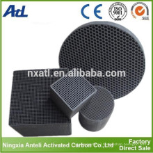 catalyst carrier activated carbon honeycomb block