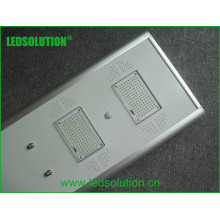 Réverbère solaire intégré au produit solaire