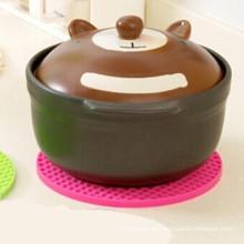Kreative Silikon Tisch Dish Bowl Mats