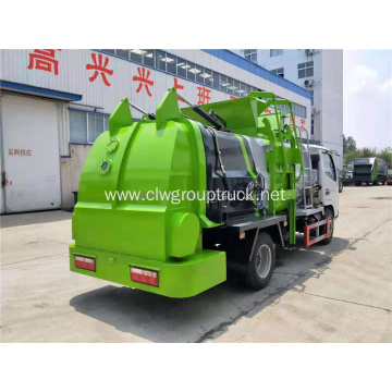 4x2 kitchen food Waste collection truck