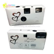 Классический Белый Свадебный вечеринки одноразовые камеры с подарочной коробке 18 эксп.