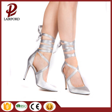 lace strappy Stiletto heel women shoes spring