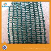 Red plástica hecha punto material del lazo del árbol del PE para la exportación