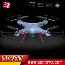 Original Syma X5HC con 2MP cámara HD 2.4G 4CH 6 ejes sin cabeza modo RC Quadcopter RTF