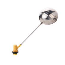 Soupape à bille à bille flottante en laiton, valve à bille flottante en laiton J5007, bille en laiton / pvc