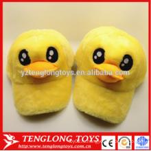 2015 Пользовательские плюшевые игрушки желтые утки пустые snapback шляпы