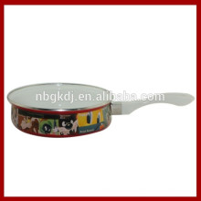 пользовательские эмаль кастрюли оптовой & эмаль сковорода