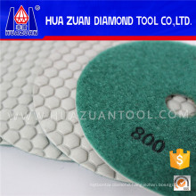 "4"" White Diamond Polishing Pads on Sale"
