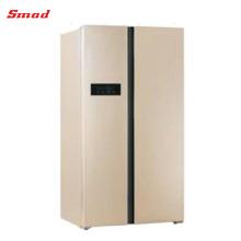 429L & 612L Frost Free Chinese Günstige Luxuriöse Low Noise Side By Side Kühlschrank mit LED-Licht