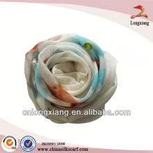 Fashion Style pintado a mano cachemir mezcla bufanda