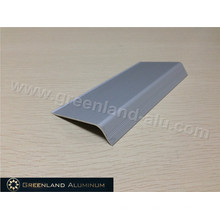 Silver Tile Edging in Aluminum Profile Small Size