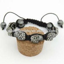 Skull Bracelets Shamballa Fashion Crystal Bracelets