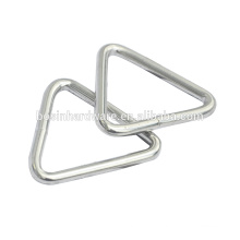 Fashion High Quality Metal Nickel Plated Triangle Ring