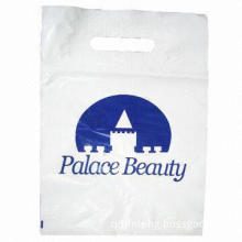 Die-cut Plastic Gift Bag, Made of LDPE Material, Customized Sizes and Styles are Welcome