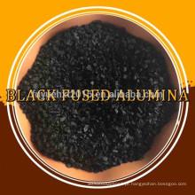 pó de pedra preta alumina fundida preta