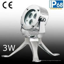 Luz de spot subacuática LED de acero inoxidable fabricado por Professinal (JP-95131)