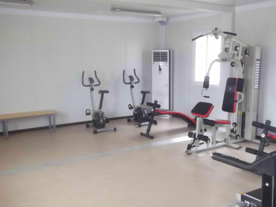 Prefab Flatpack Gym Room