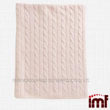 Warm Kaschmir Soft Touch Baby Decke
