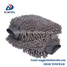 Guante 100% impermeable del lavado de la felpa de la limpieza de la felpa de la microfibra del guante del túnel de lavado