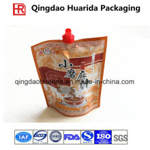 Aluminiumfolie-Plastikverpackungs-Gewürze / Soße-Tasche mit Tülle