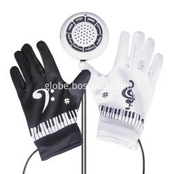 Toy  Gloves Electronics Piano