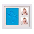 Baby Handprint Colorful Wooden Photo Frame
