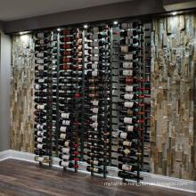 Wholesale custom stainless steel wine peg wall-mounted wine rack