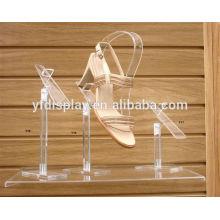 Porte-chaussures en acrylique et présentoir