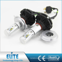 Hot sale car accessories no fan type h4 led car headlight kit 50w