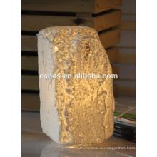 Lámpara de luz de lectura de cerámica europea