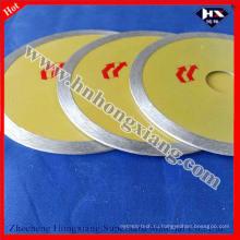 Круглозерный алмазный пильный диск для резки стекла