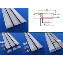 Series LED Anodised Hanging Extrusion Aluminum Profile
