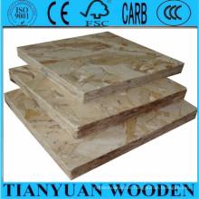 China OSB para construcción / embalaje / muebles, paneles de madera OSB precios
