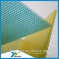 Opal Polycarbonat Hohlblatt Transparente Bedachungsplatten für Garage verwendet