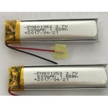 Bateria do polímero 500mAh para a escova de dentes elétrica (LP1X5T8)