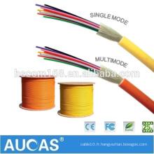 Fournisseur en Chine Câble fibre optique extérieur GJFJV