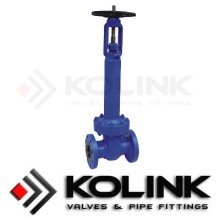 Cast Steel Belos meterai Gate Valve