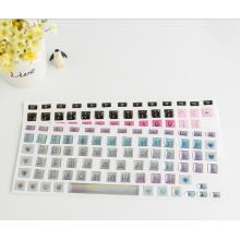 Benutzerdefinierte wasserdichte Notebook Tastatur Schutzfolie Silikon Laptop Tastatur staubdicht Aufkleber Haut Film