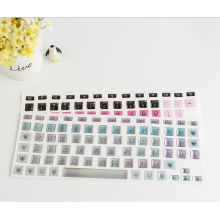 Film de protection de clavier étanche pour ordinateur portable Film de silicone pour ordinateur portable Clavier anti-poussière autocollant Film de peau