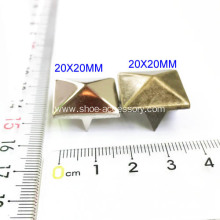 Antique Brass Pyramid Studs for Leather Applications