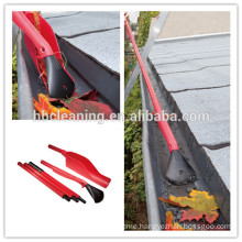 easy reach gutter cleaning kit, leaf grabber with 3 section handles