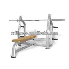 Cama de levantamiento de pesas estándar de la venta caliente / equipo comercial de la aptitud