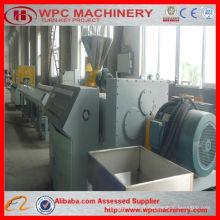 Extrudeuse de porte WPC / profil PVC pour ligne de production de fenêtres / machine à fabriquer des portes en PVC