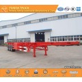 3-axles 60 tons Container transport semi trailer