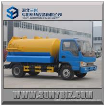 JAC Rhd LHD 6000L Camión de vacío de aspiración de aguas residuales