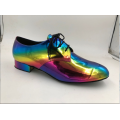 Широкие мужские туфли для бальных танцев