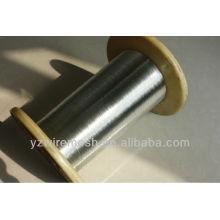 Cable Hot dipbed electro galvanizado alambre para Corea (fabricante)