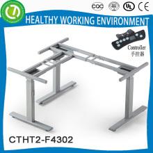 Metallischer elektrischer höhenverstellbarer aldi Laptop-Schreibtischrahmen für Büro