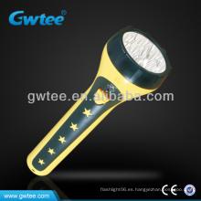 Linterna de larga distancia de plástico linterna GT-8109