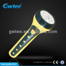 Пластичный фонарик дальнего света факел GT-8109